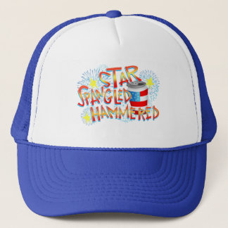 Star Spangled Hammered 4th of July Trucker Hat