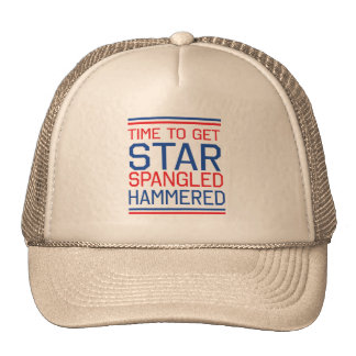 Star Spangled Hammered Trucker Hat