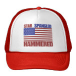 Star Spangled Hammered Hat