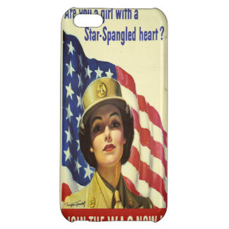 Star Spangled Heart iPhone 5C Case
