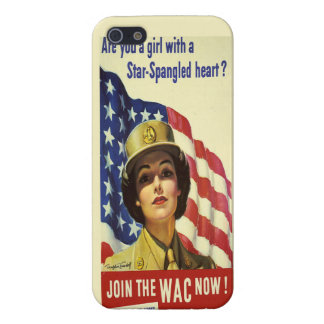 Star Spangled Heart iPhone SE/5/5s Cover
