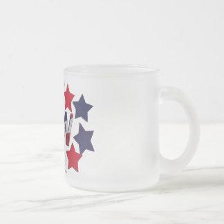 STAR SPANGLED LPN - LICENSED PRACTICAL NURSE FROSTED GLASS COFFEE MUG