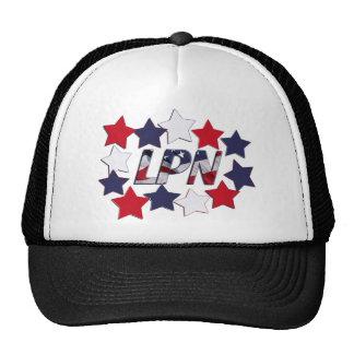 STAR SPANGLED LPN - LICENSED PRACTICAL NURSE TRUCKER HAT