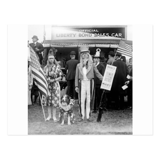 Star-Spangled Sales: 1918 Post Cards