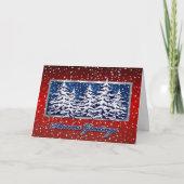 Star Spangled Seasons Greetings Card