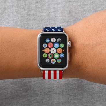 USA Themed Star-Spangled Style Apple Watch Band