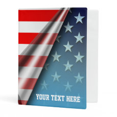 Star-Spangled Style Mini Binder