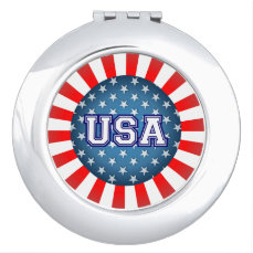 Star-Spangled Style Mirror For Makeup