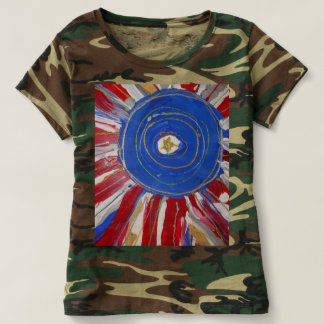 """""""Star-Spangled Sun"""" by Candy Waters Autism Artist T-shirt"""