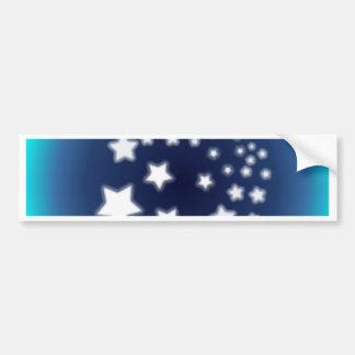 Star Spatter Bumper Sticker