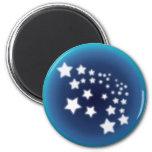 Star Spatter Refrigerator Magnet