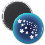 Star Spatter Refrigerator Magnets