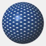 Star Sphere Classic Round Sticker
