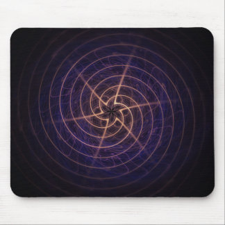 Star Spiral Mouse Pad