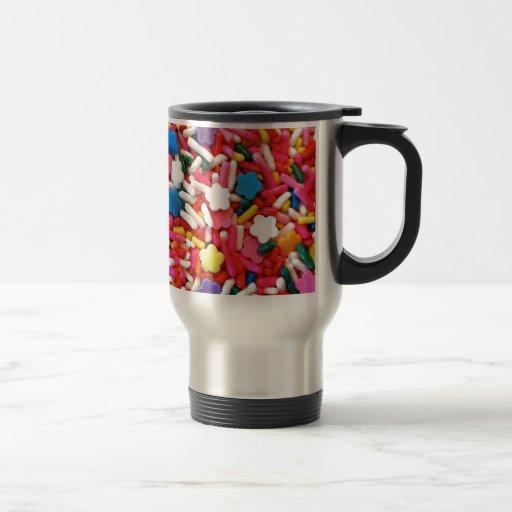 Star Sprinkles 15 Oz Stainless Steel Travel Mug
