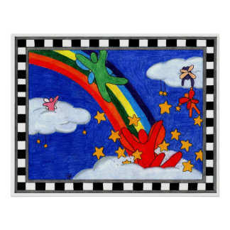 Star Sprinkles Poster