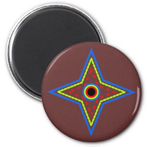 Star star refrigerator magnet