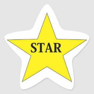 star star sticker