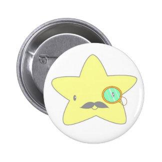 star stash pinback button