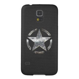 Star Stencil Retro Decal Digital Camo Style Galaxy S5 Case