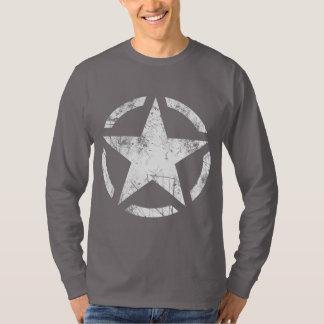 Star Stencil Vintage Grunge Style T-Shirt
