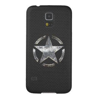 Star Stencil Vintage Jeep Decal Digital Camo Style Galaxy S5 Covers