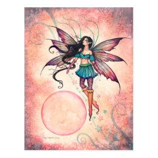 Star Stepper Fairy Fantasy Art Postcard