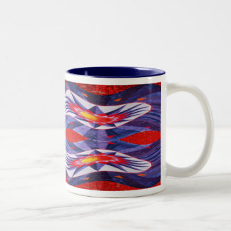 Star Streamer Two-Tone Coffee Mug