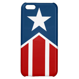 Star & Stripes Cover For iPhone 5C