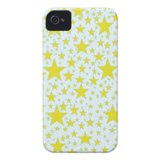 Star Studded Gold iPhone Case