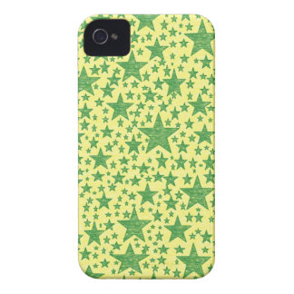 Star Studded Green iPhone Case