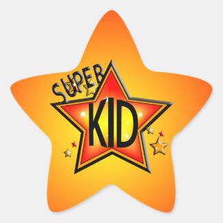 Star  Super Kid Star Shape Stickers