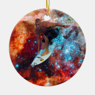 Star Surfer Christmas Ornaments