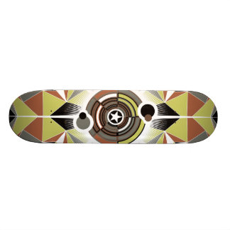 Star - Symmetrical Design Skateboard