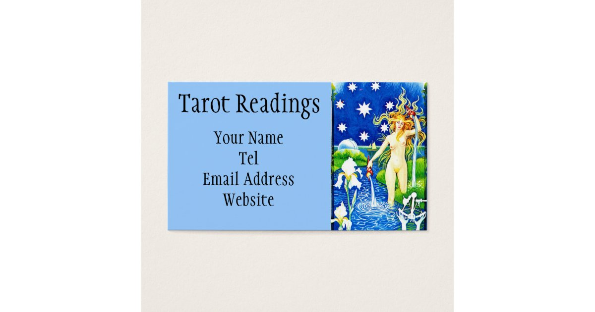 Star Tarot Business Cards & Templates | Zazzle