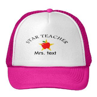 star teacher trucker hat