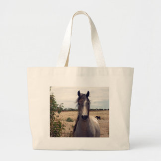 Star The Arab Pony, Large Tote Bag