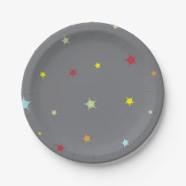 Star Themed Party Plates-Baby Shower Paper Plate