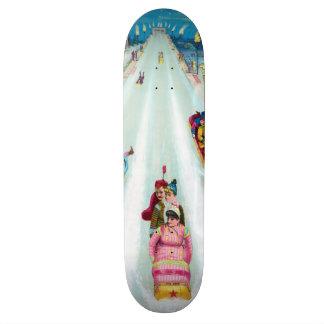 Star Toboggan 1887 Advertisement Skateboard Deck