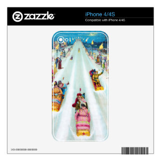 Star Toboggan 1887 Advertisement Skins For The iPhone 4S