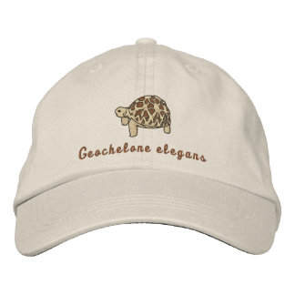 Star Tortoise (embroidered) Embroidered Baseball Caps