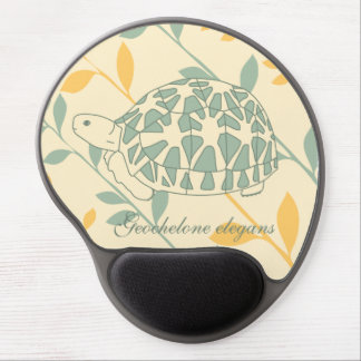 Star Tortoise Mousepad (green branches) Gel Mouse Pad