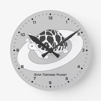 Star Tortoise Planet Clock