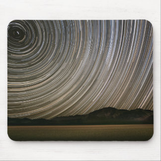 Star Trail at Night | California, Death Valley Mouse Pad