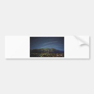 Star Trails over Aspen CO Car Bumper Sticker