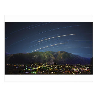 Star Trails over Aspen CO Post Cards