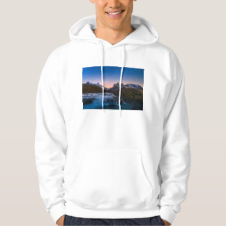 Star Trails Over Torres Del Paine Hoody