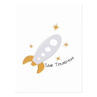 Star Treatment Postcard