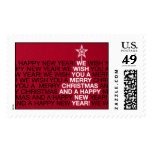 Star Tree Topper - Geisha Postage Stamps