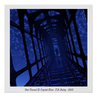 Star Tunnel II: Crystal Blue, Poster